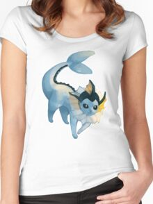 Pokémon - Vaporeon Women's Fitted Scoop T-Shirt