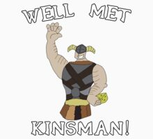 Well Met Kinsman Tee by Zachary Meyers
