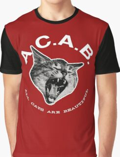 ACAB - All Cats Are Beautiful Graphic T-Shirt