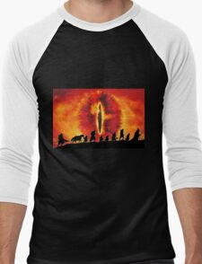 The Fellowship are Being Watched Men's Baseball ¾ T-Shirt