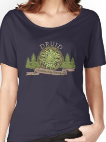 D&D TEE - DRUID T-SHIRT Women's Relaxed Fit T-Shirt