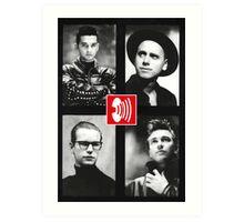 '80s Depeche Mode Art Print