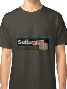 subway entrance Classic T-Shirt