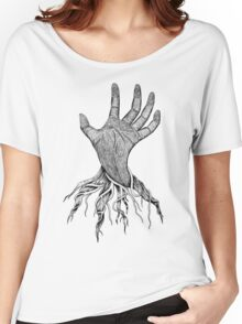 The creepy hand Women's Relaxed Fit T-Shirt