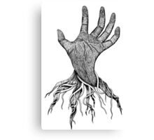 The creepy hand Canvas Print