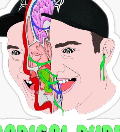 Getter   Radical Dude! Sticker