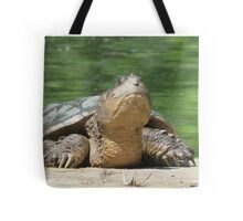 Giant Snapping Turtle Tote Bag