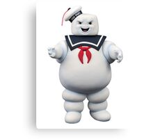 Stay-Puft Marshmallow Man Canvas Print