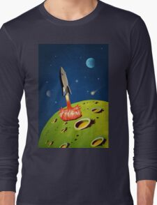 The World of Outer Space Travel Long Sleeve T-Shirt