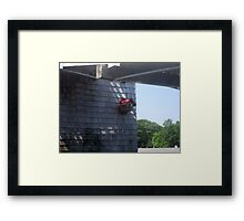 Waterfront Birdhouse Framed Print