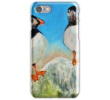 Puffin around iPhone Case/Skin