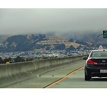 Arriving in Southern San Fran Photographic Print