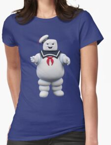 Stay-Puft Marshmallow Man Womens Fitted T-Shirt