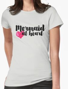 Mermaid at Heart Womens Fitted T-Shirt
