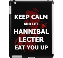 Keep calm and... let Hannibal Lecter eat you up (2) iPad Case/Skin