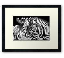 Fade with me Framed Print