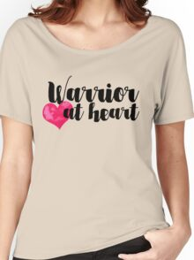 Warrior at Heart Women's Relaxed Fit T-Shirt