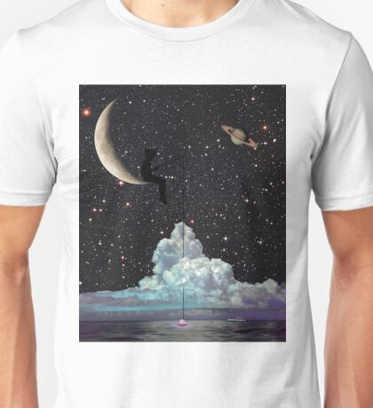 Late Night Fishing Unisex T-Shirt
