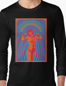 The Miller Blues Band Psychedelic Concert Poster Long Sleeve T-Shirt