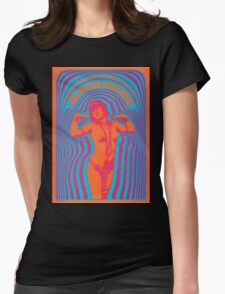 The Miller Blues Band Psychedelic Concert Poster Womens Fitted T-Shirt