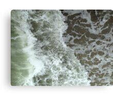 Raw Sea Canvas Print