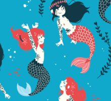 Tattooed Mermaids  Sticker