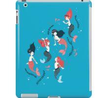 Tattooed Mermaids  iPad Case/Skin