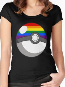 Pride Ball Women's Fitted Scoop T-Shirt