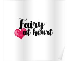 Fairy at Heart Poster