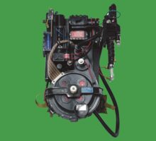 Classic Ghostbusters Proton Pack One Piece - Short Sleeve