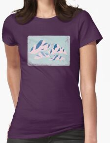 Mountainy Womens Fitted T-Shirt