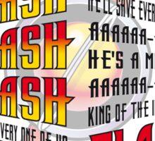 FLASH GORDON´S SONG Sticker