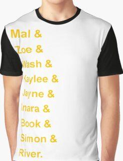 Serenity's Crew Graphic T-Shirt