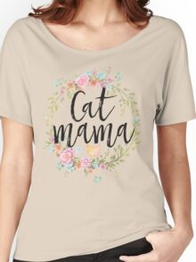 CAT MAMA Women's Relaxed Fit T-Shirt