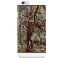 Eeriness of Nature's Aged Tree Artistic Unique Decor iPhone Case/Skin