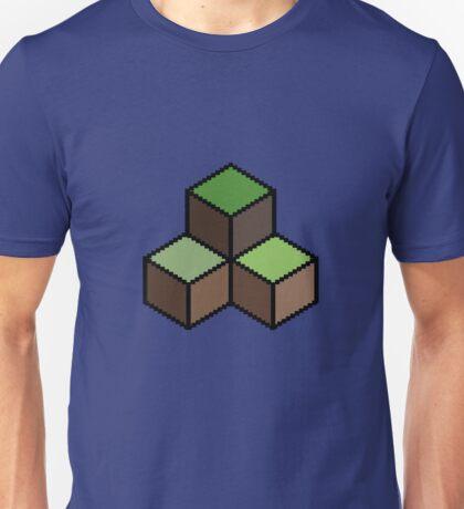 8 Bit Pixel Building Blocks Unisex T-Shirt