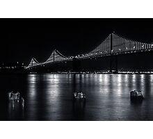 Bay Under Bridge Photographic Print