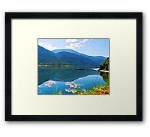 Kootenay Lake British Columbia Framed Print