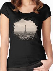 Paris Women's Fitted Scoop T-Shirt
