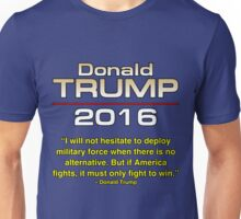 TRUMP FIGHT TO WIN Unisex T-Shirt