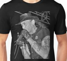 Stephen Pearcy from RATT B&W Unisex T-Shirt