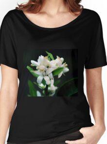 Lemon Blossoms Women's Relaxed Fit T-Shirt