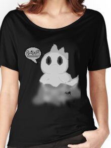 Ghost Dino pixel Women's Relaxed Fit T-Shirt