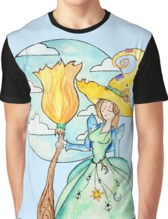 Farmer Witch - Green Witch / Fairy Godmother Graphic T-Shirt