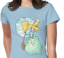 Farmer Witch - Green Witch / Fairy Godmother Womens Fitted T-Shirt