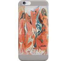 picasso graffiti # 9 iPhone Case/Skin
