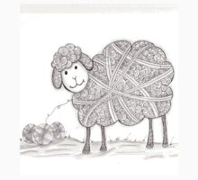 Tangled Sheep Kids Clothes
