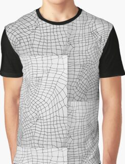 Techno Pattern Graphic T-Shirt