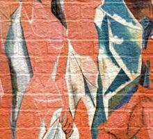 picasso graffiti # 9 Sticker