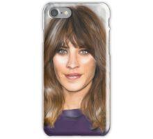 Alexa Chung iPhone Case/Skin